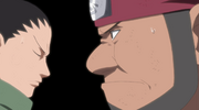 Kitsuchi e Shikamaru