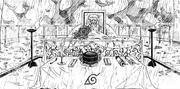 O funeral de Hiruzen