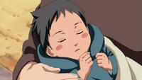 Sasuke cuando era un bebé
