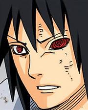 Rinnegan rojo de Sasuke