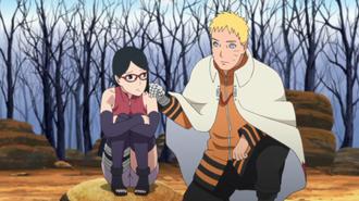 Sarada & Naruto