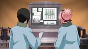 Shizune e Sakura analizam o DNA do Zetsu Branco