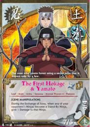 El Primer Hokage y Yamato BP