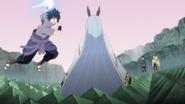 Sasuke ataca Kaguya (Anime)