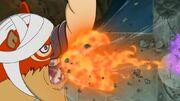 Baku absorbe el fuego
