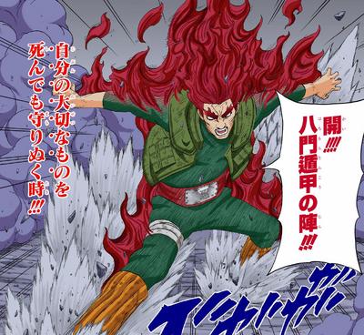 Formación de Liberación de las Ocho Puertas Manga
