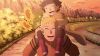 Hima and Naruto playing