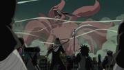 Konoha se prepara para pelear contra el Zorro de Nueve Colas