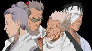 Los altos cargos de Konoha implicados en la Masacre del Clan Uchiha