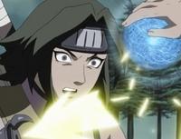 Naruto defeats Aoi