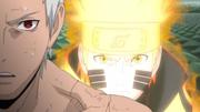 Naruto tenta curar Obito
