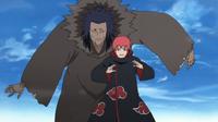 Sasori tras pasar a ser parte de Akatsuki