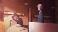 Mitsuki visita Sumire no hospital