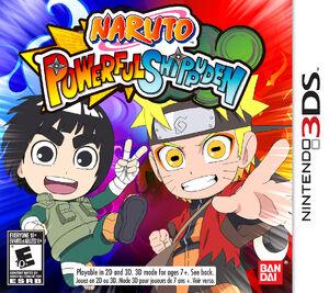 Naruto SD Powerful Shippuden English Cover