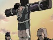 Kaiza siendo ejecutado por Gatō