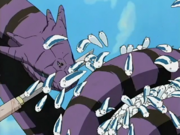 Katsuyu escapa de Manda