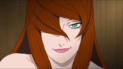 Mei Terumi amenazando a Sasuke Anime HD