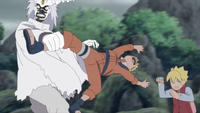 Naruto and Boruto vs. Urashiki