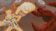 Naruto se defende de Roshi