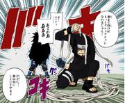 Retaliação (Kankurō - Mangá)