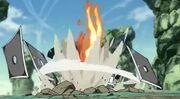 Toroi es derrotado por Naruto