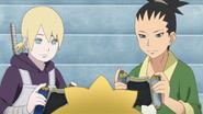Inojin e Shikadai jogando