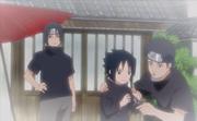 Sasuke, Itachi e Shisui
