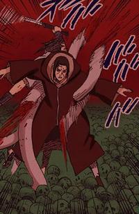 Contra Genjutsu Colorido (Sasuke - Mangá)