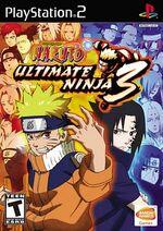 Naruto Ultimate Ninja 3 Norteamérica