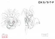 Arte Pierrot - Feições de Saya2