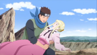 Konohamaru and Remon