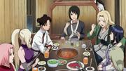 La reunión de chicas de Konoha