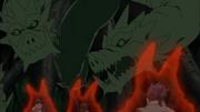 Las raíces de Shinju cambian su forma para atacar