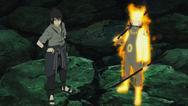 Naruto e Sasuke se preparam