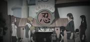 Naruto y Sasuke se encuentran por primera vez en la Academia