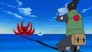 Shikamaru acerta Kinkaku com Kagemane