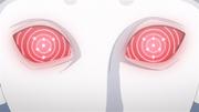 Urashiki ativa seu Rinnegan com tomoe