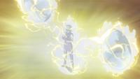 Armadura do Ataque Relâmpago (Buntan - Anime)