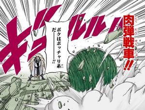 Bola de Tanque Humano Manga