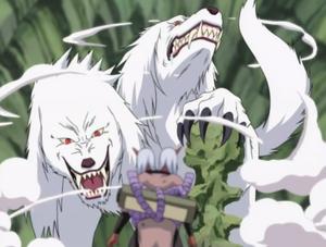 Double-Headed Wolf
