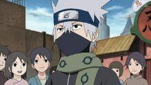 Kakashi mint Genin