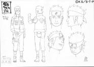 Arte Pierrot - Asuma Doze Guardiões Ninja
