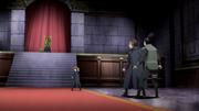 Confronto de Shikamaru contra Rō e Soku