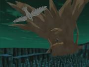 Gaara usa arena contra Deidara