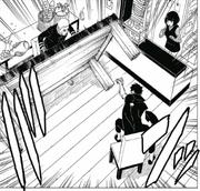 Kawaki joga a mesa