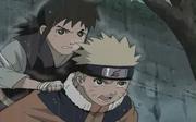 Naruto ayuda a Idate en el maratón