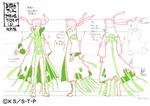 Diseño de Naruto Modo Kurama I por Pierrot