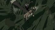 Hiruzen frees Naruto
