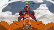 Naruto aparece para luchar contra Pain