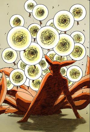 Arte Sabio Grupo de Super Grandes Esferas Giratorias Manga